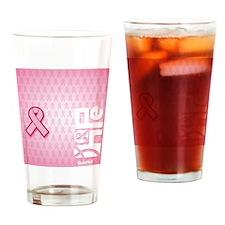 FlipFlops_HopeRibbon_BG02a Drinking Glass