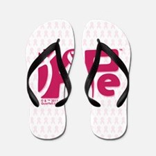 kindle_HopeRibbon_BG01b Flip Flops
