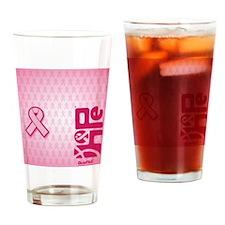 FlipFlops_HopeRibbon_BG02b Drinking Glass