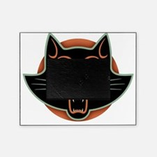 blk-cat-face-T Picture Frame