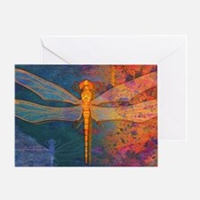 toiletryFlamingDragonfly Greeting Card
