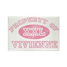 Property-of-Vivienne Rectangle Magnet