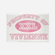 Property-of-Vivienne Rectangle Magnet