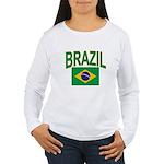 Brazil Women's Long Sleeve T-Shirt