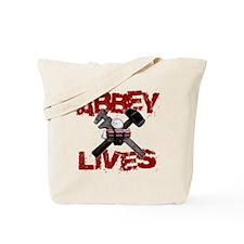 abbey_lives_black Tote Bag