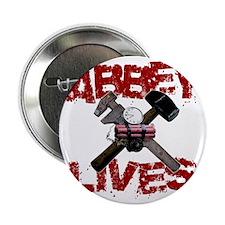 "abbey_lives_black 2.25"" Button"