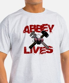 abbey_lives_black T-Shirt