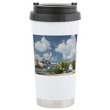 New Plymouth: Town View from Se Travel Mug