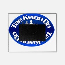 TKD fighting stance blue Picture Frame