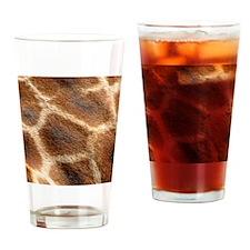 GiraffePatternMensWallet Drinking Glass