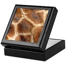 GiraffePatternMensWallet Keepsake Box