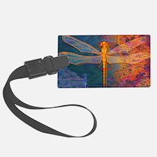 shoulderFlamingDragonfly Luggage Tag