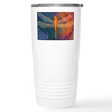 shoulderFlamingDragonfly Travel Mug