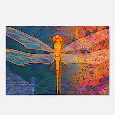 shoulderFlamingDragonfly Postcards (Package of 8)