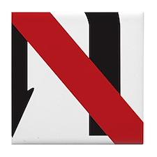 NoUTurn-iPad2_Cover-1 Tile Coaster