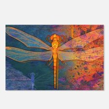 coinFlamingDragonfly Postcards (Package of 8)