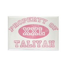 Property-of-Taliyah Rectangle Magnet