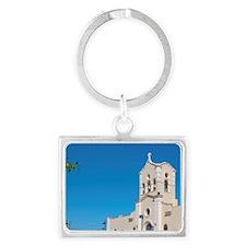 Sanctuary of St Lazaro church i Landscape Keychain