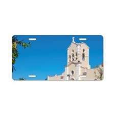 Sanctuary of St Lazaro chur Aluminum License Plate