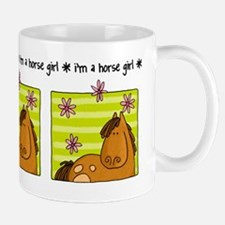 horse girl Small Small Mug