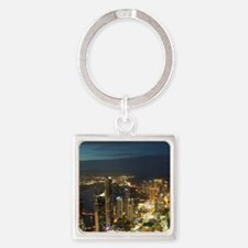 Surfers Paradise Square Keychain