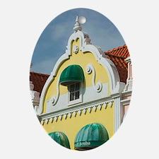 ABC Islands, ARUBA, Oranjestad: Down Oval Ornament