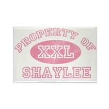Property-of-Shaylee Rectangle Magnet