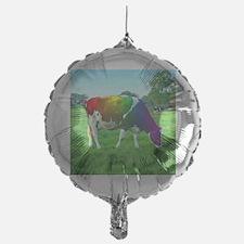 rainbow-cow_13-5x13-5 Balloon