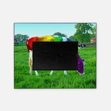 rainbow-cow_13-5x13-5 Picture Frame