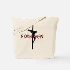 NotPerfect-Forgiven_4Dark Tote Bag