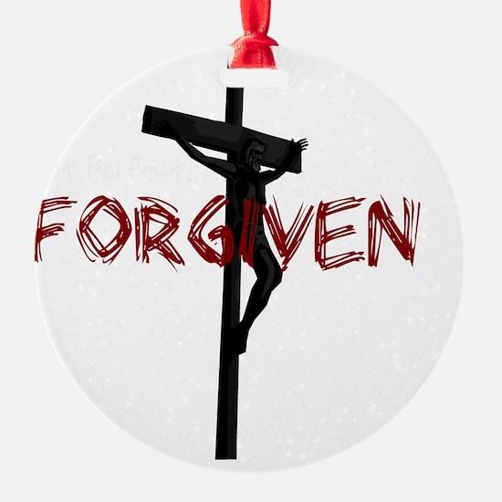 NotPerfect-Forgiven_4Dark Ornament