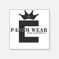 "PanemWear_DarkShirts Square Sticker 3"" x 3"""