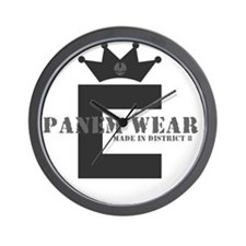 PanemWear_DarkShirts Wall Clock