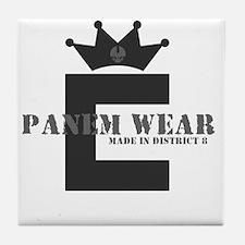 PanemWear_DarkShirts Tile Coaster