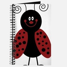 Love Bug Cartoon Ladybug Journal