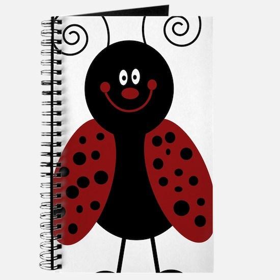 Love Bug Cartoon Ladybug Journal