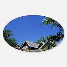 Jamaica, Ocho Rios, Island Village. Sticker (Oval)