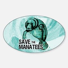 clutchManateeSave Decal