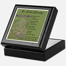 An Irish Blessing Keepsake Box