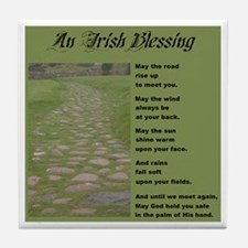 An Irish Blessing Ceramic Coaster
