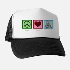peaceloverobotswh Trucker Hat