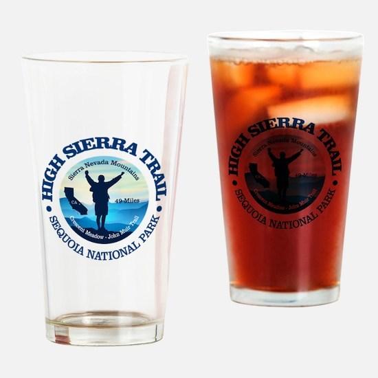 High Sierra Trail Drinking Glass