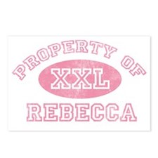 Property-of-Rebecca Postcards (Package of 8)