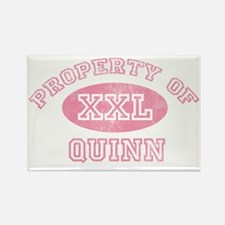 Property-of-Quinn Rectangle Magnet