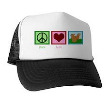 peacelovemicewh Trucker Hat