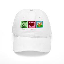 peacelovemicewh Baseball Cap