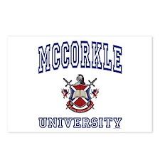 MCCORKLE University Postcards (Package of 8)