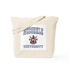 MCCORKLE University Tote Bag