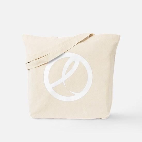 12_BCRibbon01_White Tote Bag