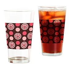 PINKPEACEWALLET Drinking Glass
